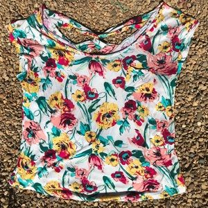 Charlotte Russe floral top